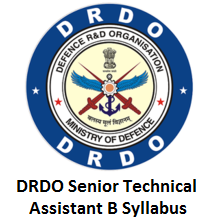 DRDO Senior Technical Assistant B Syllabus