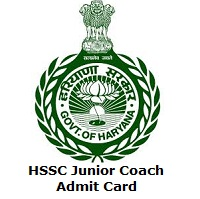 HSSC Junior Coach Admit Card