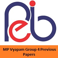 MP Vyapam Group 4 Previous Papers