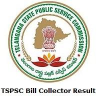 TSPSC Bill Collector Result
