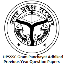 UPSSSC Gram Panchayat Adhikari Previous Year Question Papers