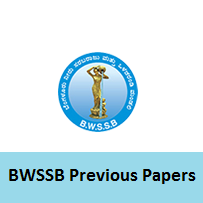 BWSSB Previous Papers