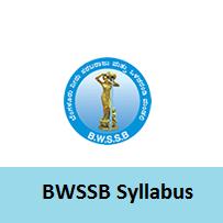 BWSSB Syllabus