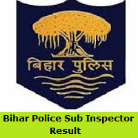 Bihar Police Sub Inspector Result