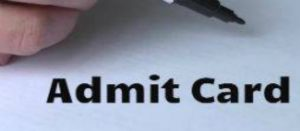 DPSSC Admit Card