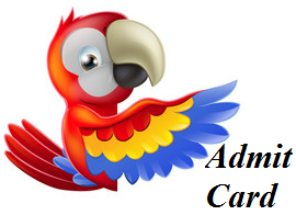 CGPDTM Admit Card