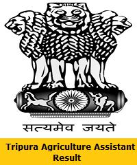 Tripura Agriculture Assistant Result