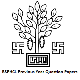 BSPHCL Previous Year Question Papers