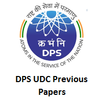 DPS UDC Previous Papers
