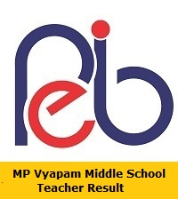 MP Vyapam Middle School Teacher Result