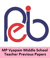 MP Vyapam Middle School Teacher Previous Papers
