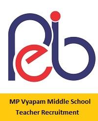 MP Vyapam Middle School Teacher Recruitment