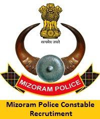 Mizoram Police Constable Recruitment