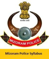 Mizoram Police Syllabus