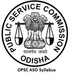 OPSC ASO Syllabus