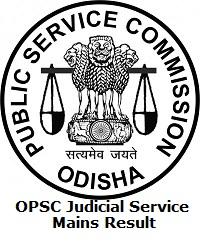 OPSC Judicial Service Mains Result