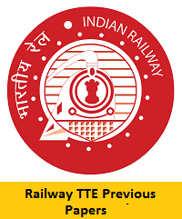 Railway TTE Previous Papers