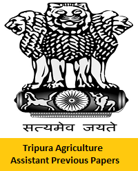 Tripura Agriculture Assistant Previous Papers