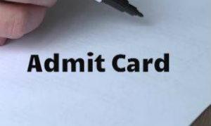 HCL Executive Admit Card