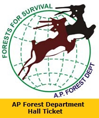AP Forest Department Hall Ticket