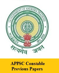 APPSC Constable Previous Papers