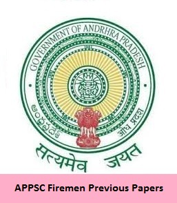 APPSC Firemen Previous Papers
