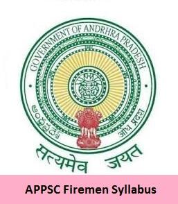 APPSC Firemen Syllabus