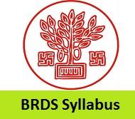BRDS Syllabus