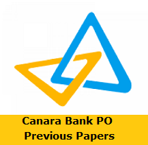 Canara Bank PO Previous Papers