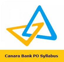 Canara Bank PO Syllabus