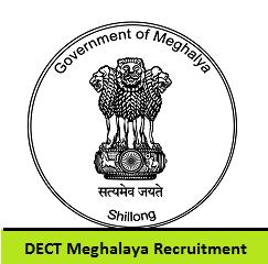 DECT Meghalaya Recruitment