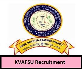 KVAFSU Recruitment