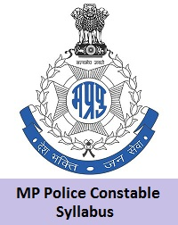 MP Police Constable Syllabus