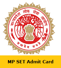 MP SET Admit Card