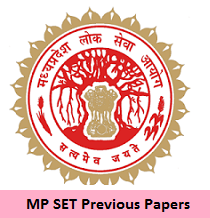 MP SET Previous Papers