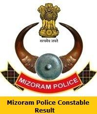 Mizoram Police Constable Result