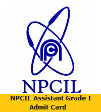 NPCIL Assistant Grade I Admit Card