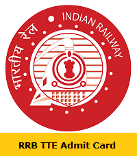 RRB TTE Admit Card