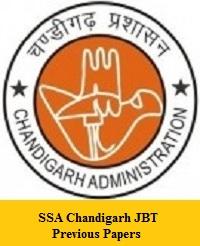SSA Chandigarh JBT Previous Papers