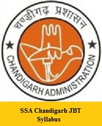 SSA Chandigarh JBT Syllabus