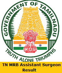 TN MRB Assistant Surgeon Result