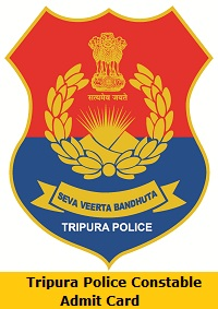 Tripura Police Constable Admit Card