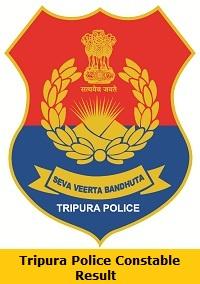 Tripura Police Constable Result