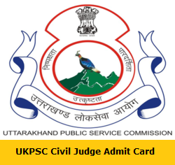 UKPSC Civil Judge Admit Card