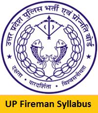 UP Fireman Syllabus