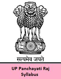 UP Panchayati Raj Syllabus