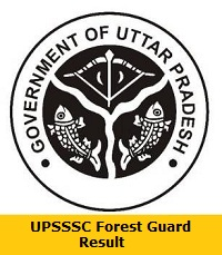 UPSSSC Forest Guard Result