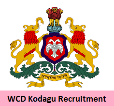 WCD Kodagu Recruitment