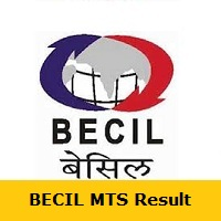 BECIL MTS Result