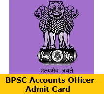 BPSC Accounts Officer Admit Card